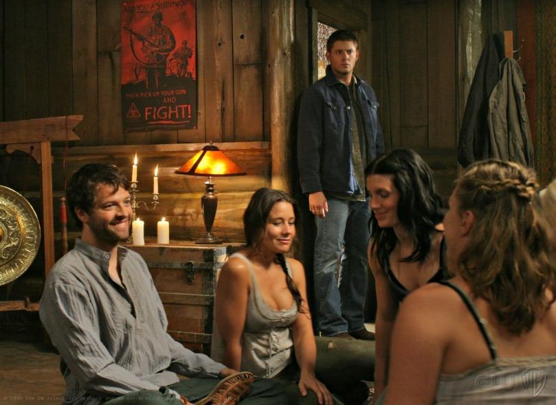 第五季當中自暴自棄,耽溺於毒品與性愛的凡人 Castiel
