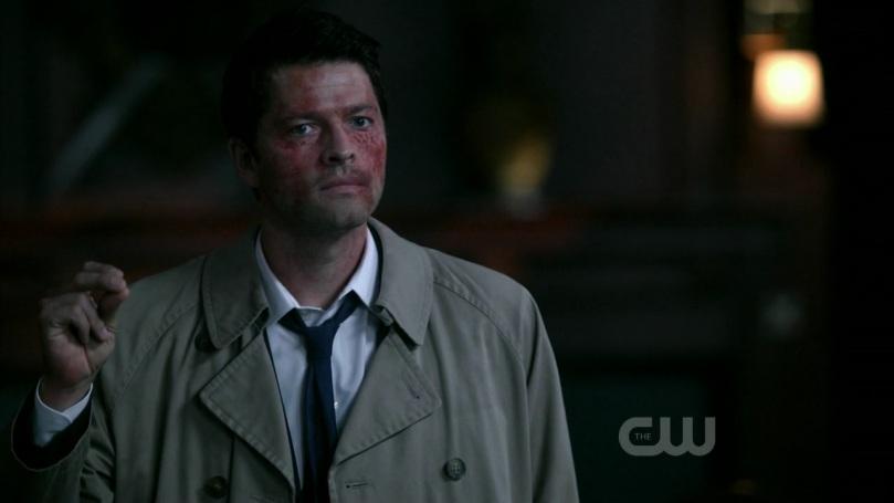 發現 Dean 企圖利用死神殺掉自己的 Castiel