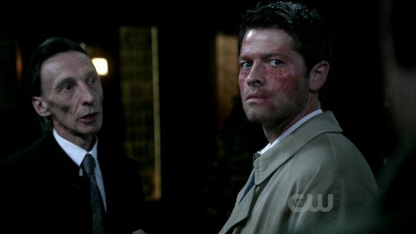 Castiel 依舊不敢相信 Dean 會這麼急切的想殺掉他