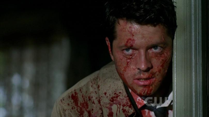 Castiel 出現,拜託 Sam 和 Dean 幫助他