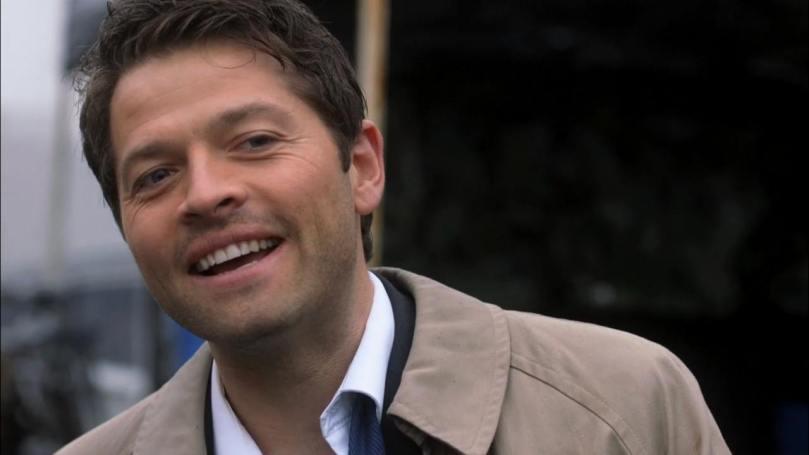 在 French Mistake 裡面笑容燦爛無比的 Misha Collins