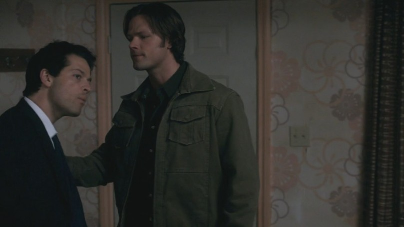 急著想要回家卻被 Sam 擋下來的 Jimmy