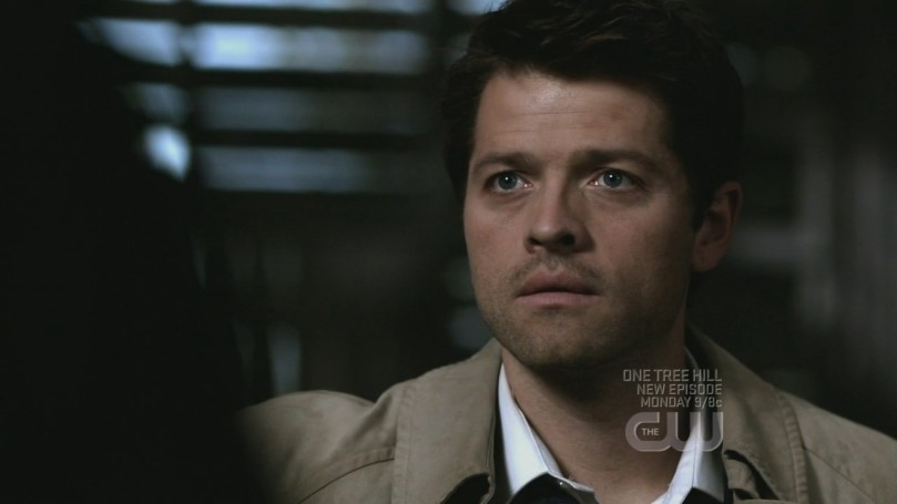 Castiel 看著 Dean 的模樣