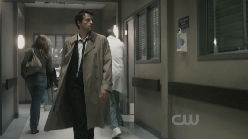 風度翩翩來到醫院的 Castiel