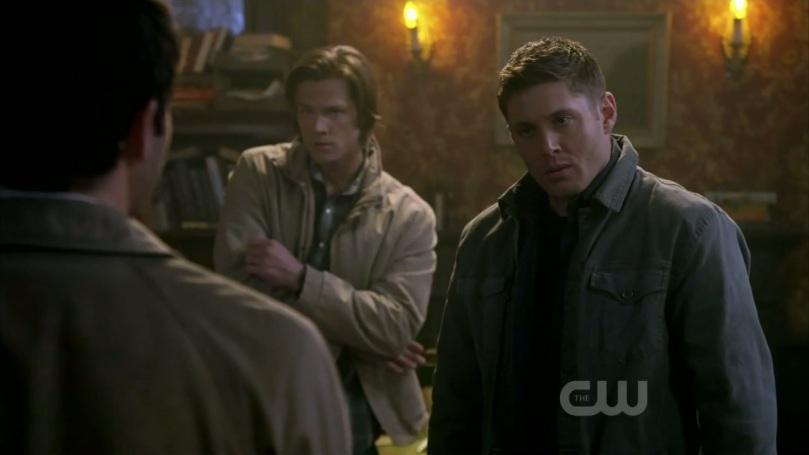 The French Mistake 裡面歪歪扭扭的 Sam 跟結屎面的 Dean