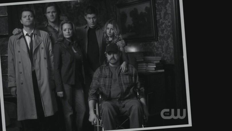 最棒的時光,到第七季第十集結束為止,居然只剩下 Sam 跟 Dean 其他都死光了...