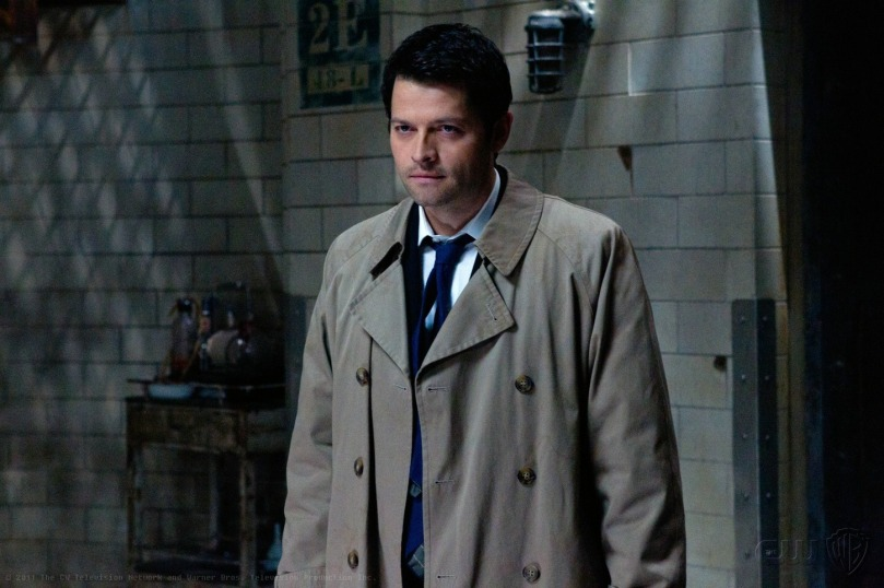 Supernatural 6x22 - The Man Who Knew Too Much (Castiel)
