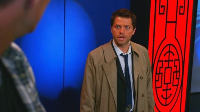 Castiel: 吼!你還問我來幹嘛!我找你半天了,你們也未免失蹤得太久了吧!?