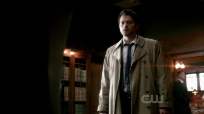 Castiel in Supernatural 6x20 - The Man Who Would Be King