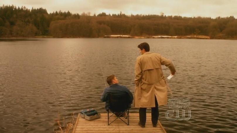 到夣裡跟 Dean 求救的 Castiel