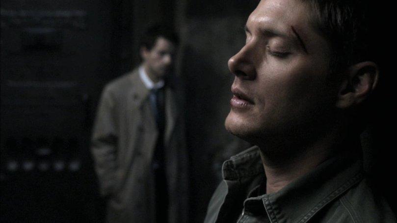 聽著 Sammy 的叫聲,心痛到快要崩潰的 Dean