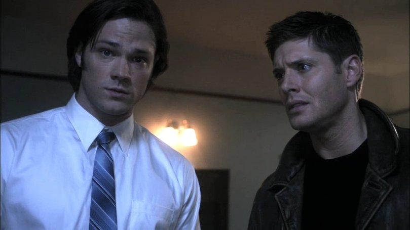 Dean: 挖咧...他幹嘛突然這麼敏感啊?我是說錯了什麼嗎?