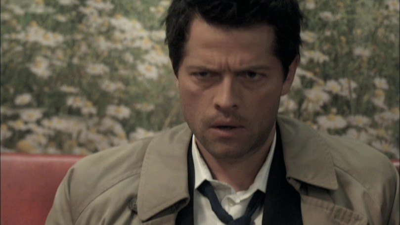 Dean: Well, what is she, exactly? Castiel: The whore.