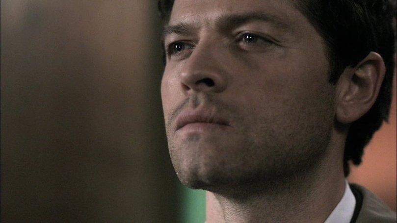 Castiel: 你會不會太過分了點,我躺在床上動彈不得,你居然就這樣丟下我落跑!?