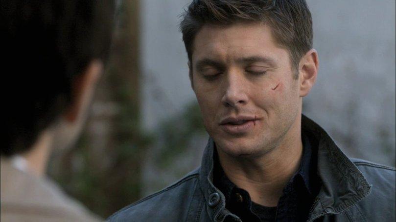 Castiel: 寶貝你打算一個人打五個天使!?我說你這跟自殺有甚麼兩樣啊?