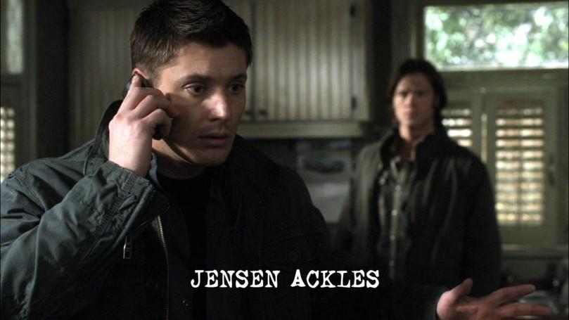 Dean: 不...不好?啊你現在到底是哪裡不好?(我現在看不到你的眼睛啊!!你這笨小孩!)