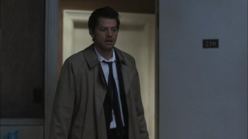 Castiel: I took a bus. Don't worry, I --