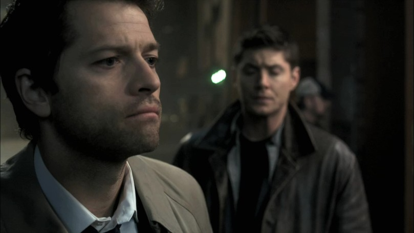 Castiel:  I suggest we imbibe copious quantities of alcohol... Just wait for the inevitable blast wave.