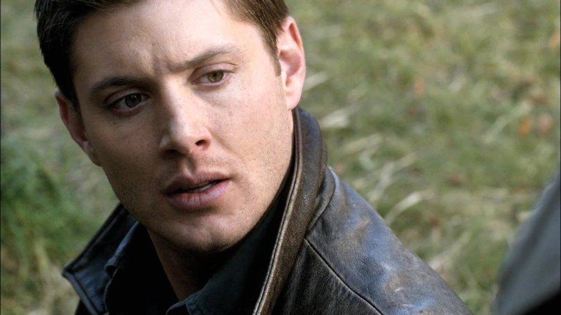 瞬間變帥的 Dean,連後面的草地都變綠了~