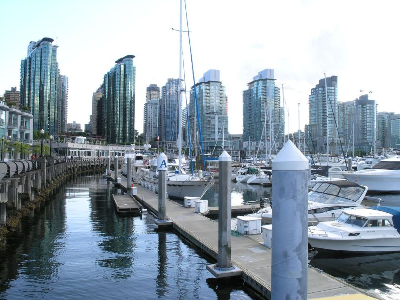 Coal Harbour Seawall
