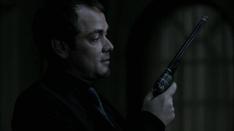 打算把 Colt 借給 Winchester 兄弟去打敗 Lucifer 的 Crowley