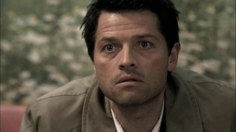沒撒謊的 Castiel,就連喝醉的時候眼神也比較集中