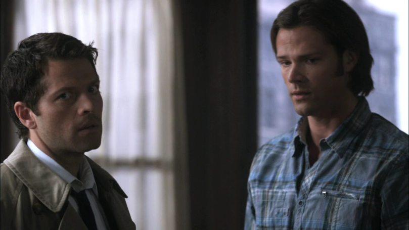 Castiel: 你是吃錯甚麼藥?你以為我是為了你所以飛下來嗎?