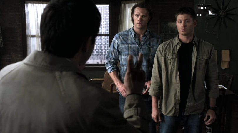 Dean: woah...我說你到底是怎麼了啊?