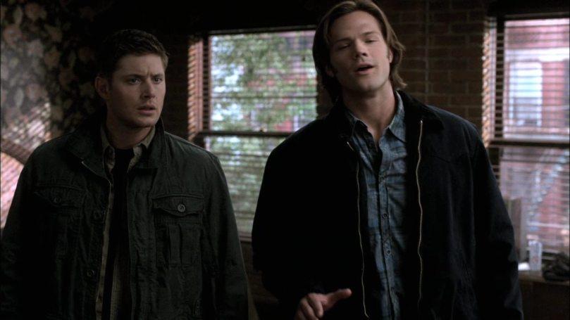 Dean: Cas...你真的是怪怪的,你要不要解釋你是哪根筋不對勁?你還是那個我以前認識的小天使媽?