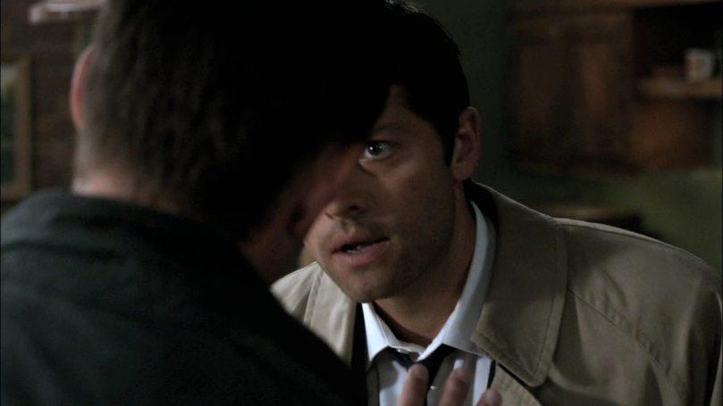 Dean: Cas!你給我停下來!沒把事情解釋清楚以前你哪裡也別想跑!