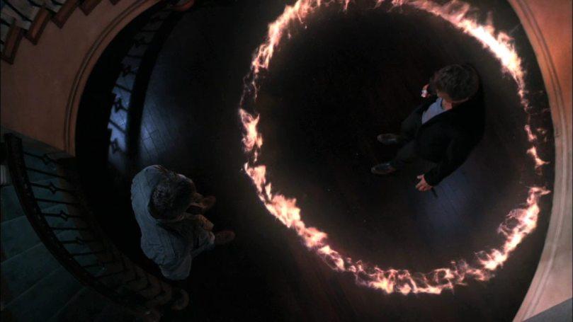 這聖火圈是哪裡冒出來的啊?靠...又是這個惹人厭的 Dean Winchester!