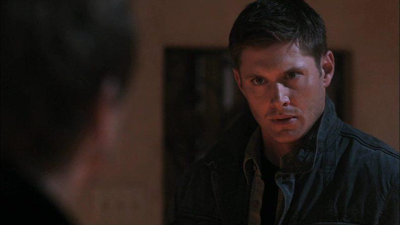 Dean: 你聽到 Cas 說的話了!快點放了那個小孩的靈魂!(Cas 選擇我而不是你,認了吧!)
