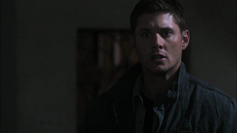 看到 Castiel 把 Balthazar 放掉人又跟著不見,Dean 真是超級火大...(我說你幹甚麼這麼火大啊?)