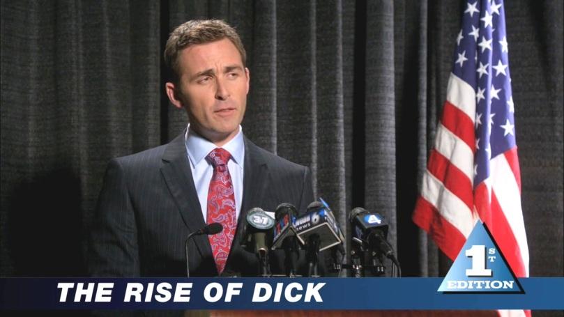 The Rise of Dick - Dick 最近的戲份好少,大概是因為他出現的那幾集反應沒有特別好,雖然他也是很有魅力