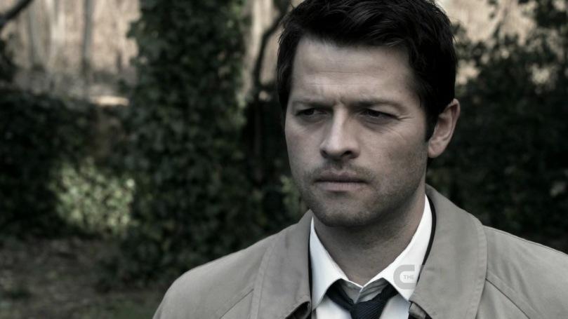 就算自己面對再多的事情,Castiel 也還是無法打擾 Dean