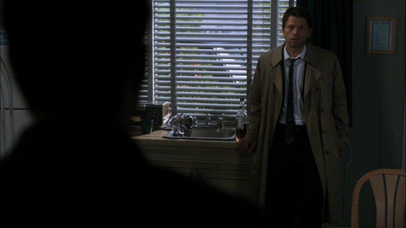 Castiel: Hello, Dean. Dean: @!#$@#!$%$!%