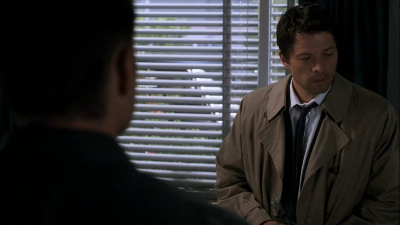 Castiel: Sam 才不是 Lucifer 的外包裝...雖然我也覺得他很怪,但他真的不是。