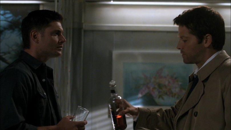 Castiel 在這裡頓了一下,但他猶豫了一下還是選擇講另外一種實話,我想天使是真的可以感應到。