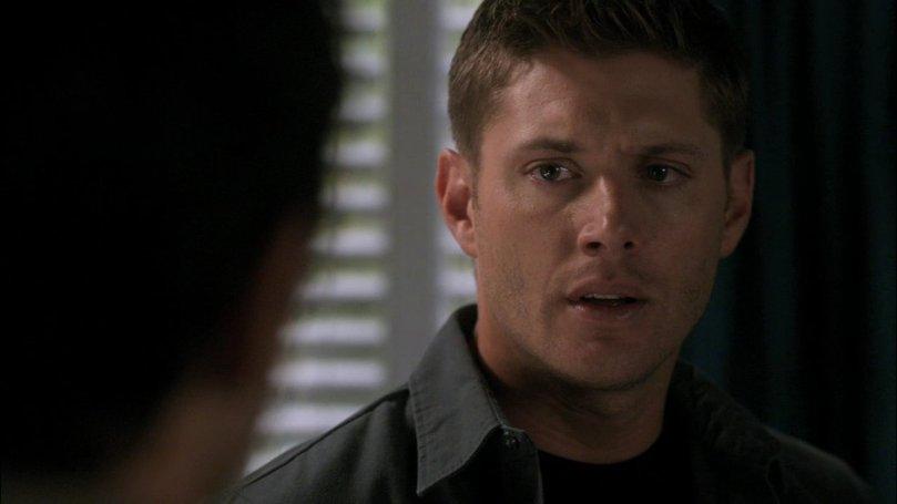 Dean:既然不是天使核武,你又不打算告訴我你的心事,那好吧~Nice seeing you, anyway,再見。