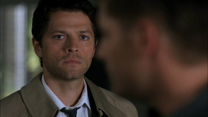 Castiel:Dean...你在生我的氣嗎?