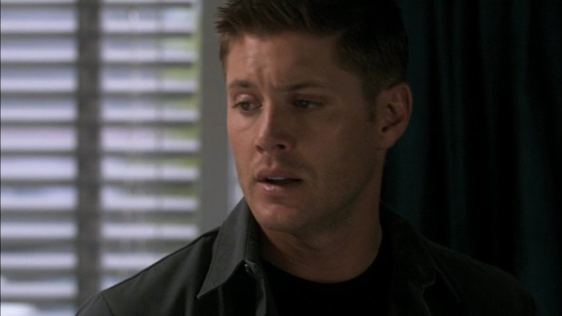 Dean:這個笨 Cas 又這樣一聲不吭的跑掉了...你不知道其實我現在很需要你陪在我身邊嗎?