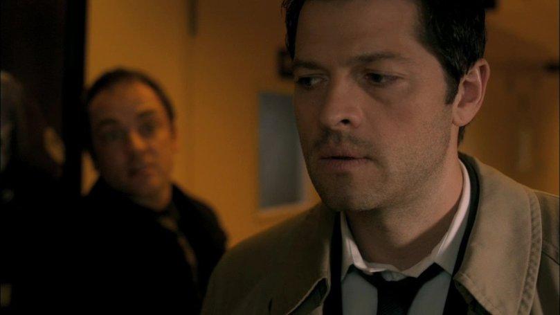 被 Crowley 說到徹底心動的 Castiel