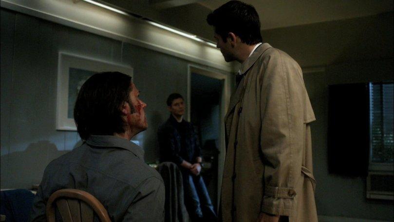每次都轉頭問 Dean 問題的 Castiel