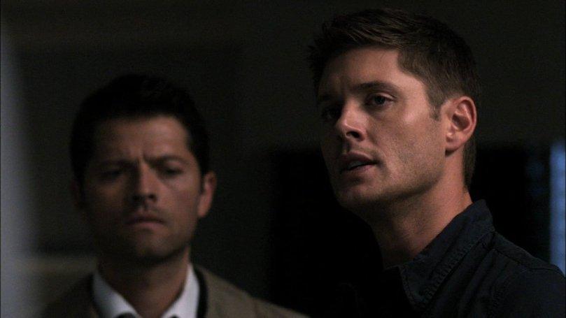 心思已經完全不在 Dean 身上的 Castiel