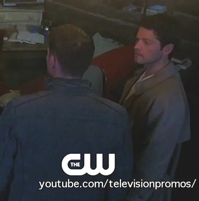 Dean...你跟 Castiel 牽手了嗎?