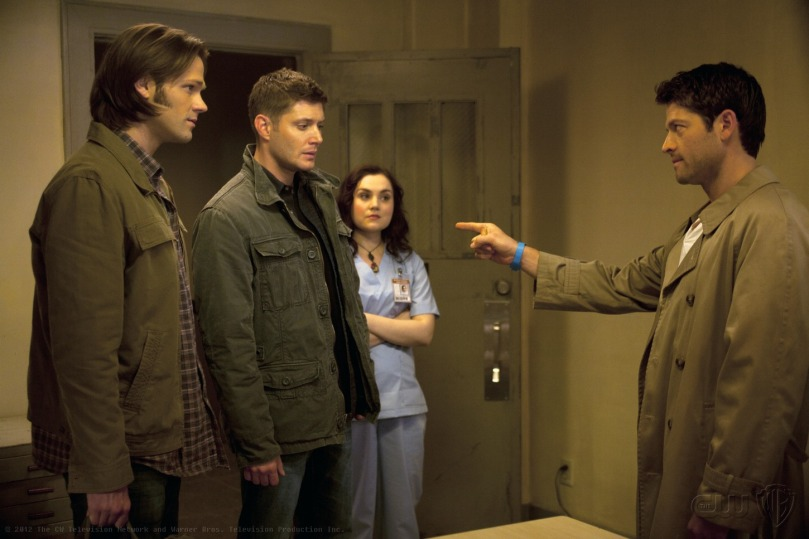 Castiel: Pull my finger.  Dean: ........What???