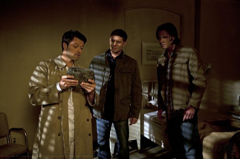 三個人又開始重新合作,可是我覺得 Sam 會不會離 Castiel 離得太遠了點?你這樣真的看得到嗎?