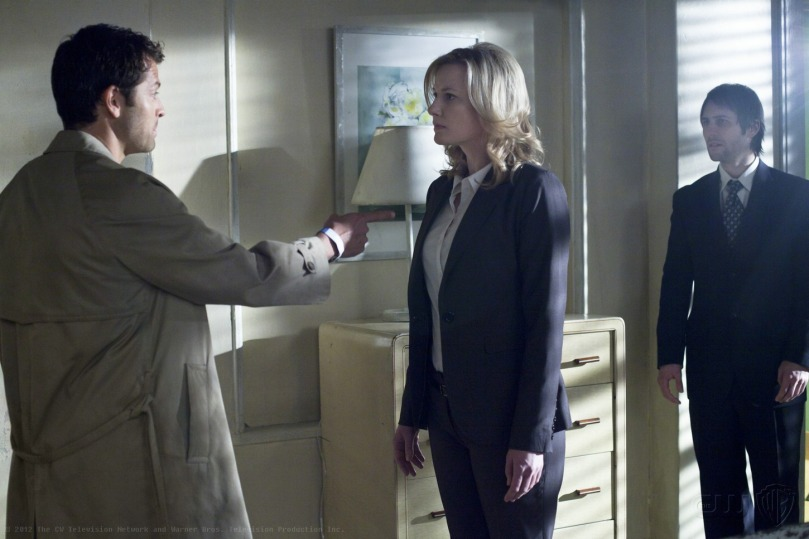 Castiel: Pull my finger.  Archangel: ........去死!