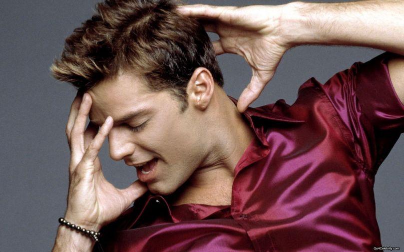永遠火辣性感的拉丁歌手 Ricky Martin