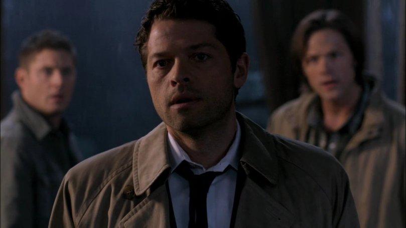 Sam 超級激動,Dean 卻一整個淡定